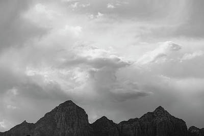 Photograph - Sedona Landscape Xxii Bw by David Gordon