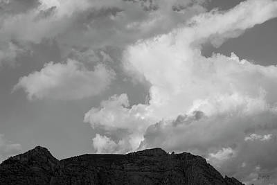 Photograph - Sedona Landscape Xxiv Bw by David Gordon