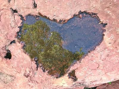 Photograph - Sedona Love by Lorella Schoales