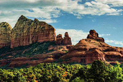 Photograph - Sedona Misc Steamboat 04-005 by Scott McAllister