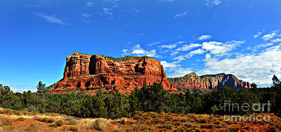 Photograph - Sedona Mountains by Eric Liller