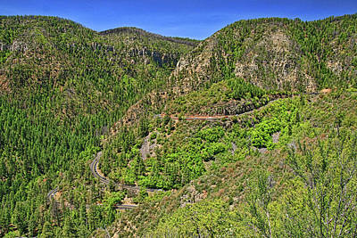 Photograph - Sedona - Oak Creek Vista by Allen Beatty