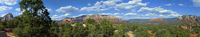 Sedona Panoramic Art Print