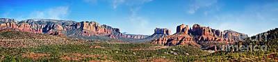 Photograph - Sedona Panoramic by Scott Kemper