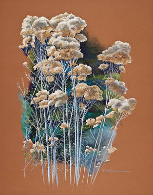 Sedona Rabbit Brush Art Print