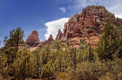 Oak Creek Photograph - Sedona Red Rock - Arizona by Jon Berghoff