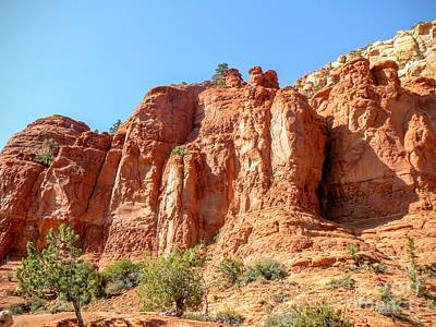 Rincon Mountains Wall Art - Photograph - Sedona Red Rock Legends by Rincon Road Photography By Ben Petersen