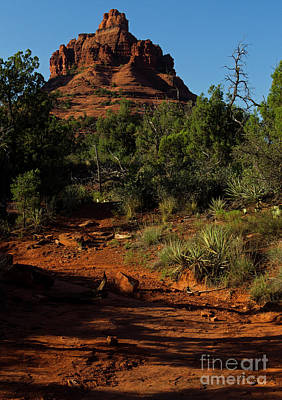 Photograph - Sedona Red Rock-signed-#5691 by J L Woody Wooden