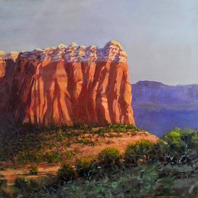 Painting - Sedona Red Rocks by Jessica Anne Thomas