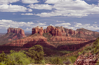 Photograph - Sedona Red Rocks by Louise Magno