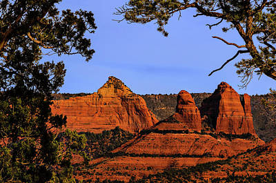 Mark Myhaver Rights Managed Images - Sedona Red Rocks Royalty-Free Image by Mark Myhaver