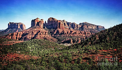 Photograph - Sedona Red Rocks by Scott Kemper