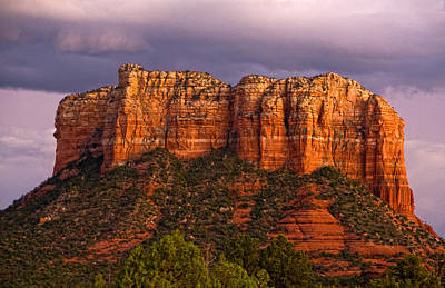 Photograph - Sedona Red Rocks by Waterdancer