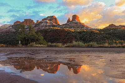 Photograph - Sedona Reflections by Robert Aycock