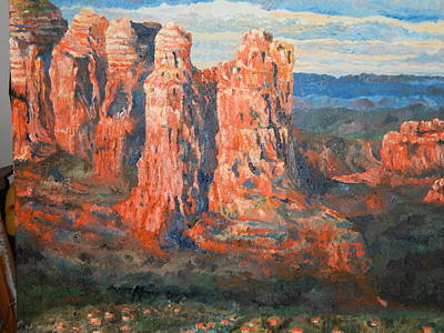 Sedona Art Print by Robert Schmidt