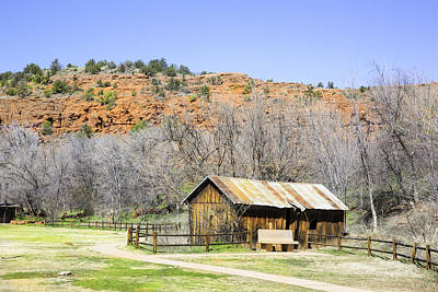 Photograph - Sedona Shack by Jodi Jacobson