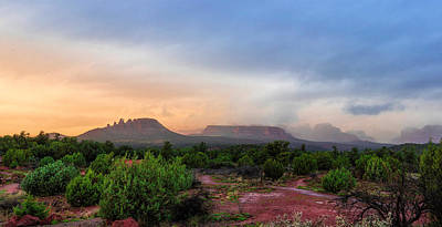 Photograph - Sedona Showers by Ron McGinnis