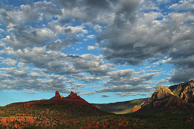 Sedona Skies 0013 Art Print by Tom Kelly