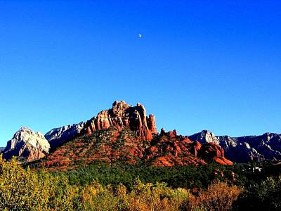 Photograph - Sedona Snoopy Rock by Michelle Dallocchio
