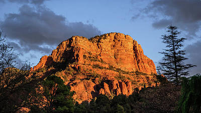 Photograph - Sedona Spring Sunset by Glenn DiPaola