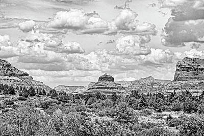 Photograph - Sedona Study 6 by Robert Meyers-Lussier