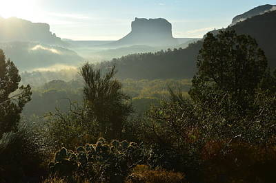 Morning After Painting - Sedona Sunrise by Ann Loyd