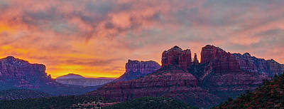 Photograph - Sedona Sunrise by Jon Glaser