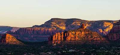Photograph - Sedona Sunrise by Robert McKay Jones