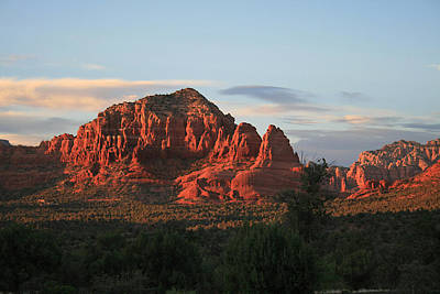 Photograph - Sedona Sunset by Ellen Henneke