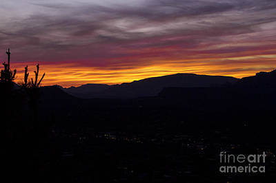 Photograph - Sedona Sunset by Louise Magno