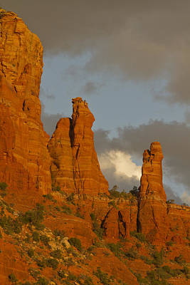 Photograph - Sedona Sunset by Tom Kelly