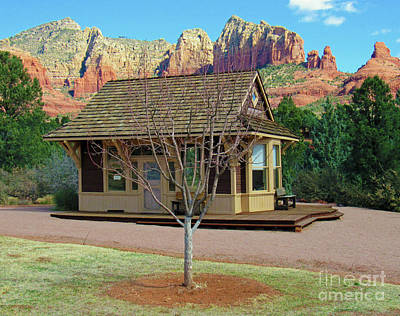 Photograph - Sedona Telegraph Office by Roberta Byram