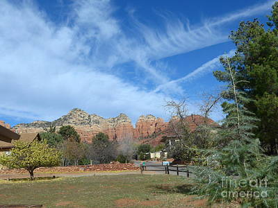 Photograph - Sedona Thanksgiving 2015 by Marlene Rose Besso