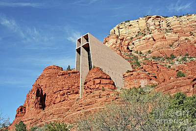 Photograph - Sedona - The Chapel - Landscape by Gabriele Pomykaj