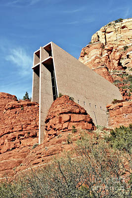 Photograph - Sedona - The Chapel Of The Holy Cross by Gabriele Pomykaj