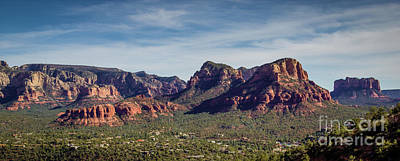 Photograph - Sedona Vista East by Jon Burch Photography