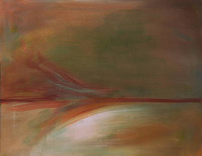 Cosmic Painting - Sedona Vortex Abstract by Julie Lueders