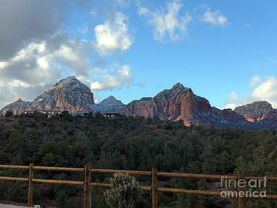 Photograph - Sedona Winter Beauty by Marlene Rose Besso