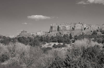 Prescott Photograph - Sedona Winter by Gordon Beck