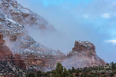 Sedona Winter Art Print