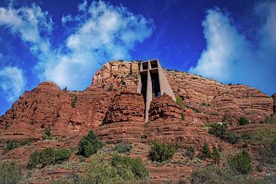 Photograph - Sedona's Chapel Of The Holy Cross by Lynn Bauer