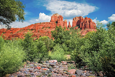 Photograph - Sedona's Red Rock Crossing  by Gregory Ballos