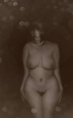 Digital Art - Seductive In Sepia by James Barnes