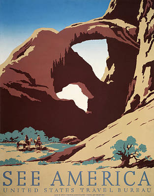 Painting - See America - United States Travel Bureau - Wpa by War Is Hell Store