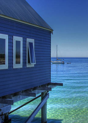 Busselton Photograph - See Blue... by Gerry McAteer