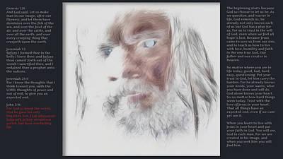 Digital Art - See God In All Man by Philip A Swiderski Jr