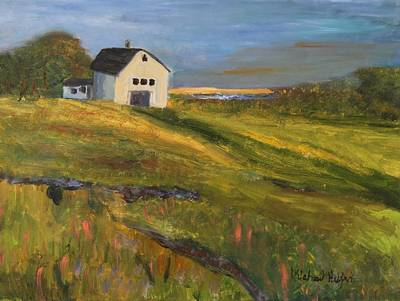 Painting - See Horse Farm by Michael Helfen