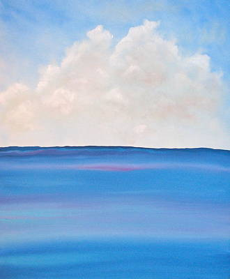 Clouds Painting - See by Kimby Faires