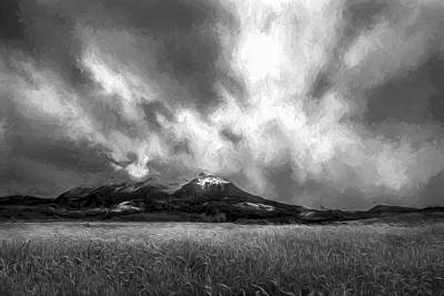 Mountains Digital Art - See My Soul II by Jon Glaser