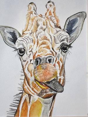 Painting - See My Tongue by Teresa Smith